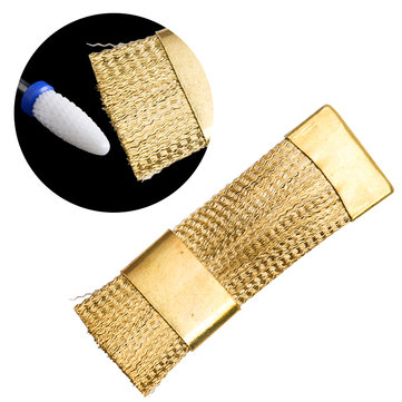 Gold Nail Cleaning Brush