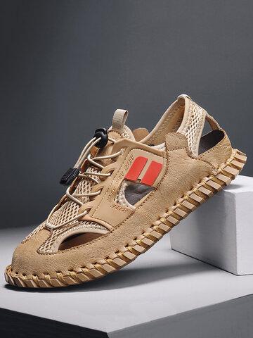 Men Closed Toe Non Slip Sport Sandals