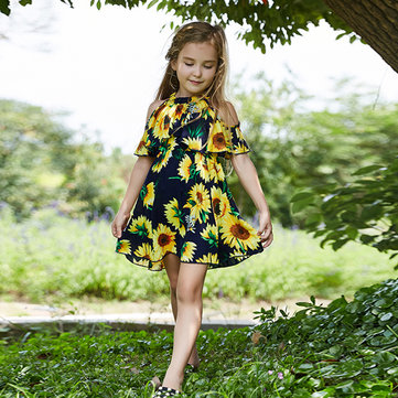 Sunflower Girls Casual Dress 1Y-7Y