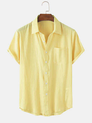 Cotton Breathable Thin Shirts