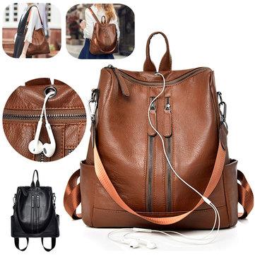 Ombro da escola de bolsa de viagem de mochila feminino Bolsa