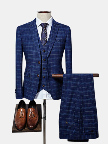 Mens Three Pieces Suits