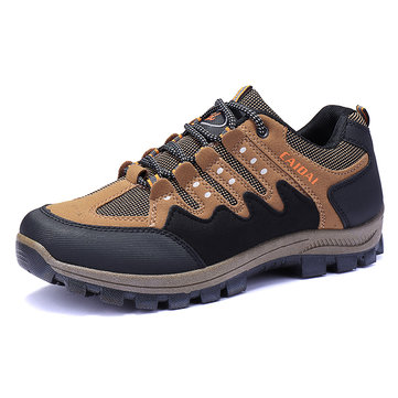 Men Waterproof Outdoor Wear Resistant Hiking Sneakers
