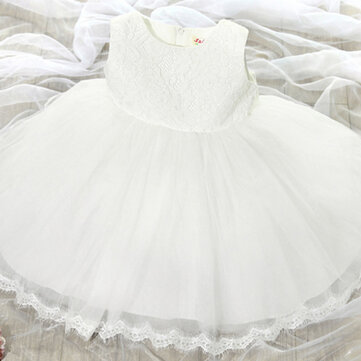 Girls Lace Princess Dress For 2Y-13Y