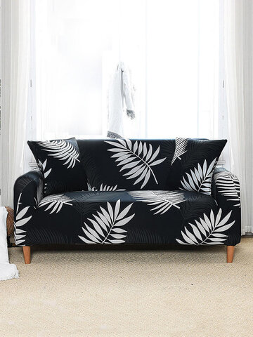 Waterproof Elastic Sofa Cover Elastic Modern Sofa Cover Cushion Cover For Living Room Couch Cover L-shape Sectional Cover Furniture Protector