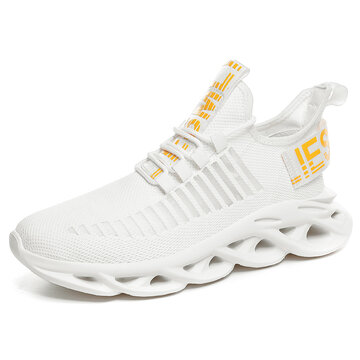 Men Lace-up Breathable Sneakers
