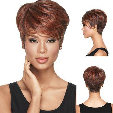 Parrucche sintetiche corte da donna
