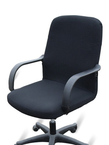 Office Computer Chair Cover Side Zipper Chair Slipcover
