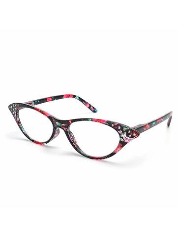 نظارات على شكل عين الماس طويل النظر