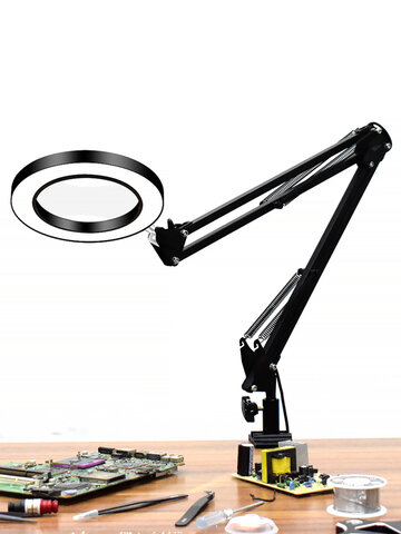USB LED Magnifier with Lighting