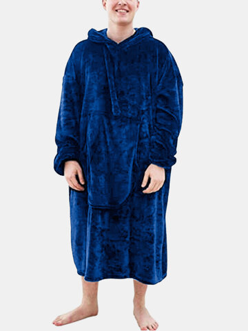 Heated Home Hooded Blanket Robes