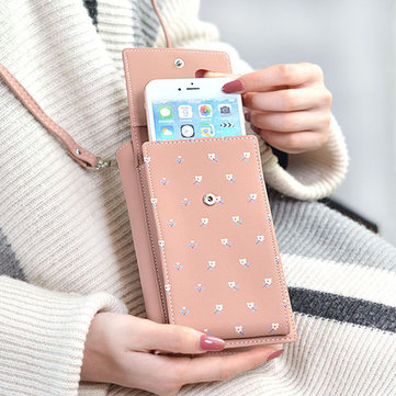 Stylish 6.5inch Phone Bag Shoulder Wallet