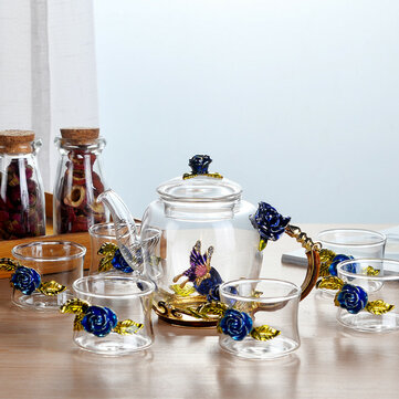 7 Sets Glass Enamel Set