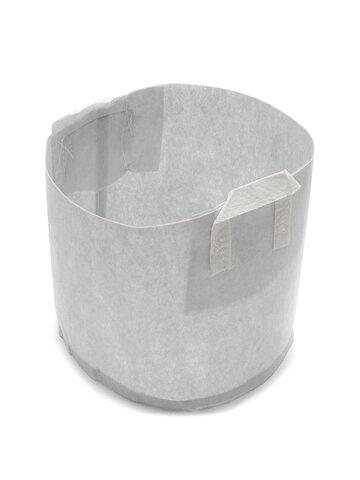 Macetas redondas de tela no tejida de 10 piezas Planta Contenedor de raíz de bolsa
