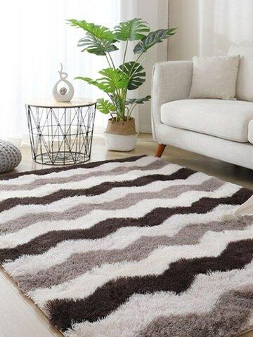 Long Variegated Tie-dye Gradient Carpet Living Room Bedroom Bedside Blanket Coffee Table Cushion Full Carpet Floor Mat