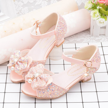 Girls Shining Princess Performance Shoes
