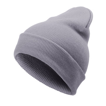 Solid Elastic Hip-hop Knitted Beanies Hat фото