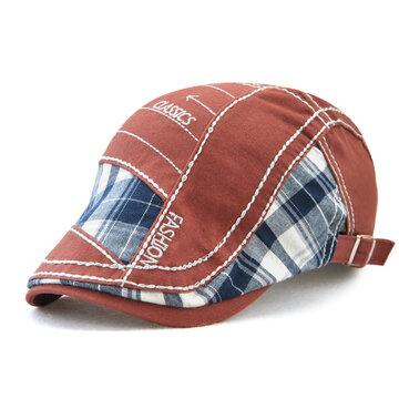 خمر التطريز القطن قبعة قبعة للرجال
