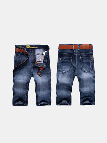 Short Multi Pockets Jeans for Men