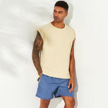 Hombres 100% algodón Casual Tank Tops
