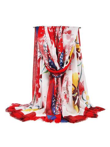 Vintage Vogue Soft Шаль с шелковым шарфом