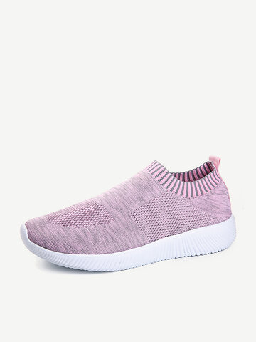 Walking Comfy Mesh Slip On Shoes