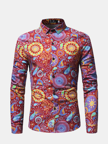 Floral Bloom Casual Shirt