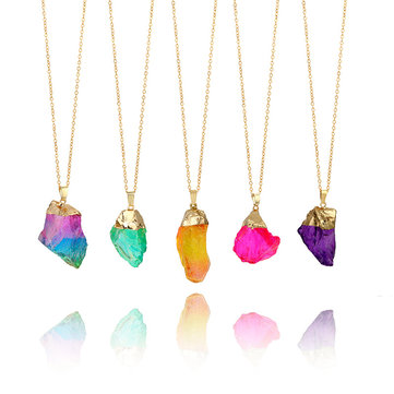 Fashion Multicolor Natural Stone Necklace