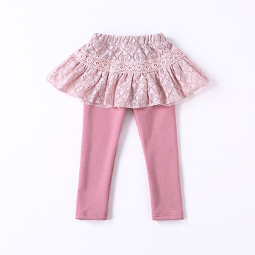Kids Girls Leggings Skirt Pants