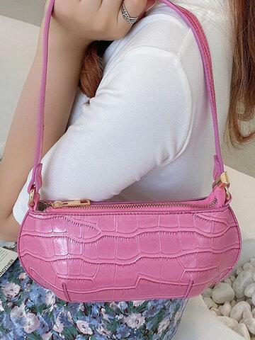 Alligator Pattern Handbag