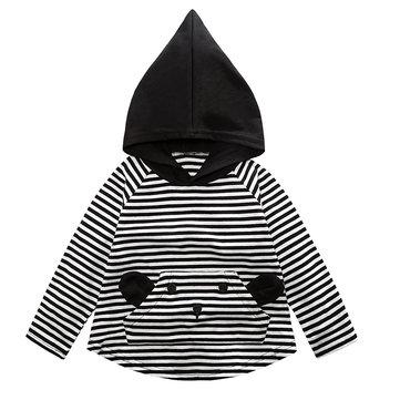 Girls Boys Hooded Tops For 1Y-7Y