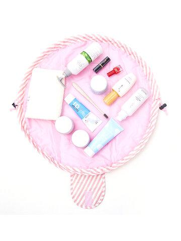 Quick Pack Cosmético de gran capacidad Bolsa Lazy Maquillaje Portátil Impermeable Viaje Bolsa