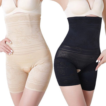 Plus Size Abrir Crotch Alta Shapewear