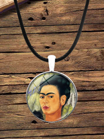 Cartoon Printed Pendant Necklace