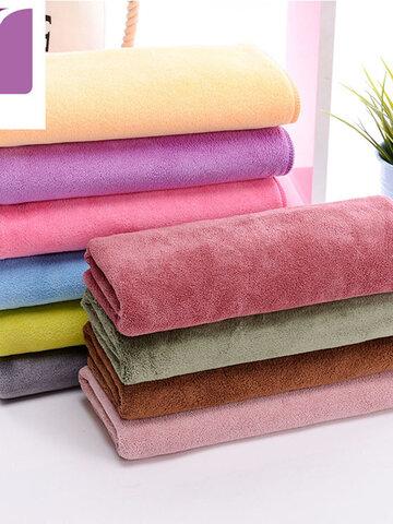 Microfibra Soft Toallas absorbentes deportivas para lavar el sudor Coche Auto Cochee Paño para limpiar ventanas de pantalla