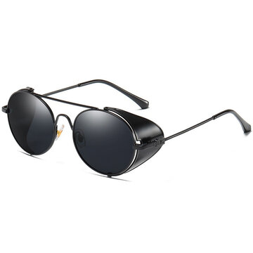 Vogue Vintage Metal Full-frame Anti-UV Sunglasses