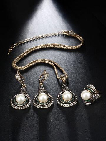 3 Pcs Women Jewelry Set