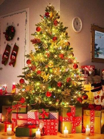 50/100/200 قطعة LED الشمسية ضوء في الهواء الطلق ضد للماء سلسلة جارلاند الجنية ضوءs حفلة عيد الميلاد حديقة مصباح للطاقة الشمسية الديكور