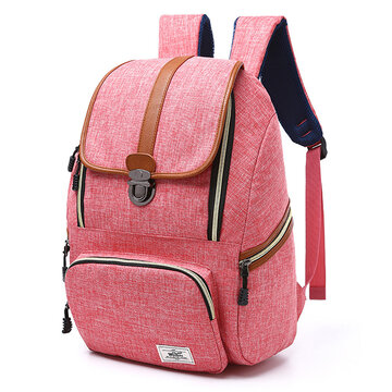 Large Capacity Vintage Outdoor Travel Laptop Bag Backpack