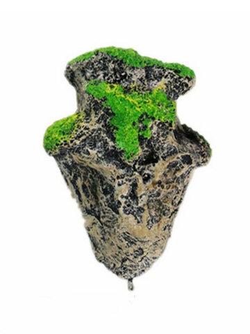 Piedra voladora pecera decoración flotador adorno piedra pómez artificial tamaño pequeño