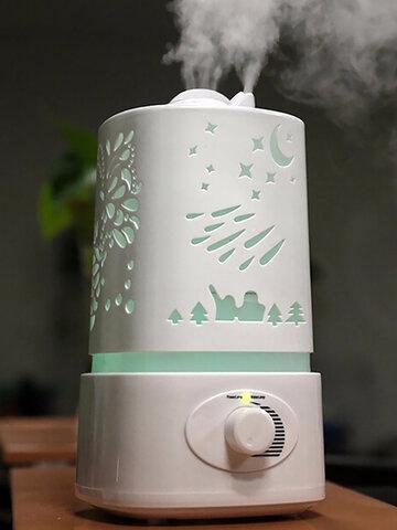 EIV Air Humidifier Mini Night Light Ultrasonic Atomization Home Office Quiet