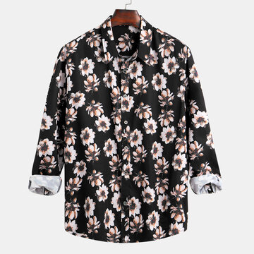 Mens Hawaii Floral Camicia