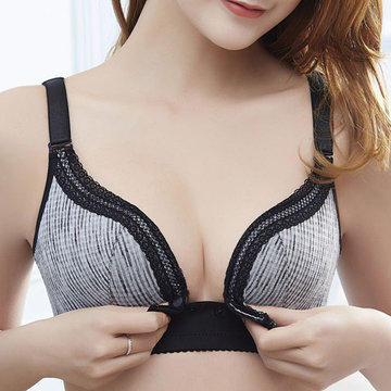 Sexy Wireless Maternity Nursing Bra