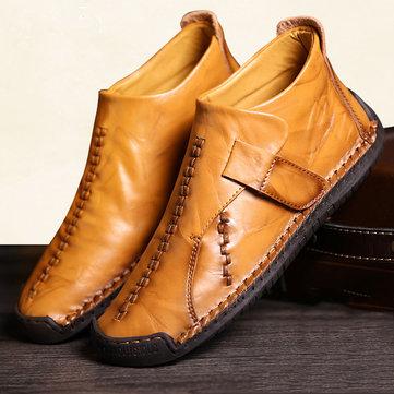 Menico Bottes de couture pour hommes de grande taille