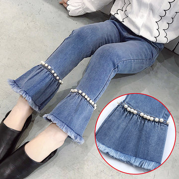 Pearls Girls Flare Jeans For 4Y-15Y