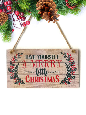 Christmas Hanging Sign Decor