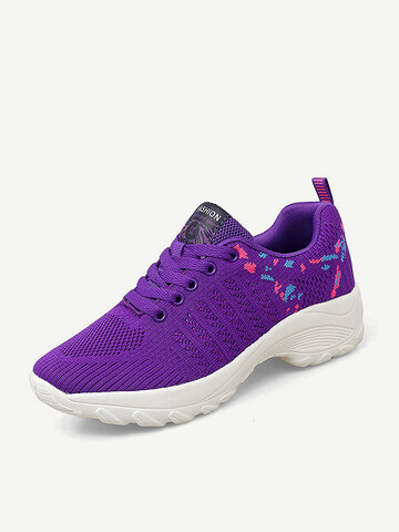 Comfy Breathable Cushioned Sneakers
