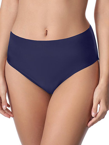 Sexy Solid Color Swimming Bottom