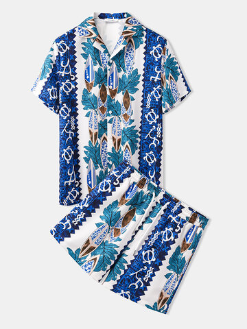 Hawaii Pattern Summer Holiday Two Pieces