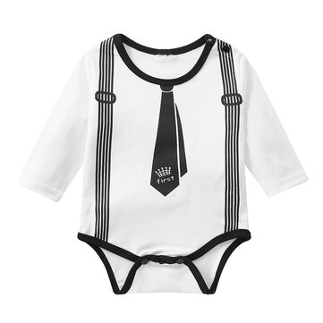 Gentleman Baby Boys Romper For 0-24M